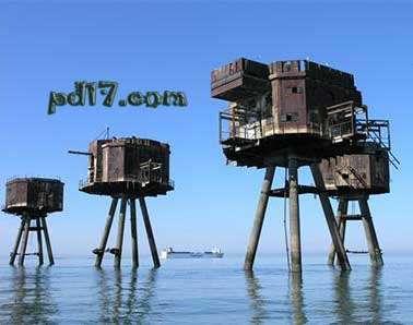 英国的水上堡垒