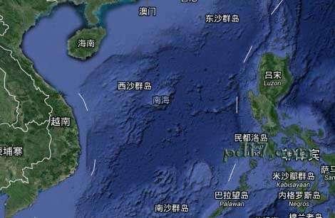 Top9:中国南海