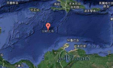 Top4:加勒比海