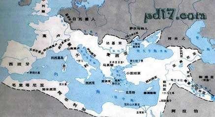 古罗马帝国版图