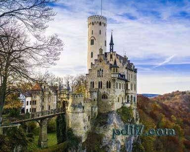 世界上最美的城堡Top10:列支敦士登城堡