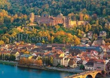 世界上最美的城堡Top6:海德堡城堡