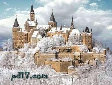 世界上最美的城堡Top5:霍亨索伦城堡
