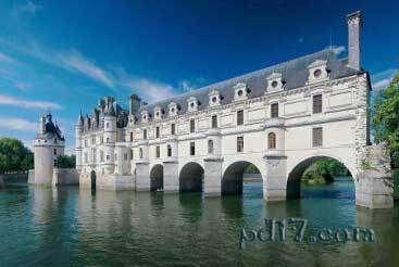 世界上最美的城堡Top4:舍农索城堡