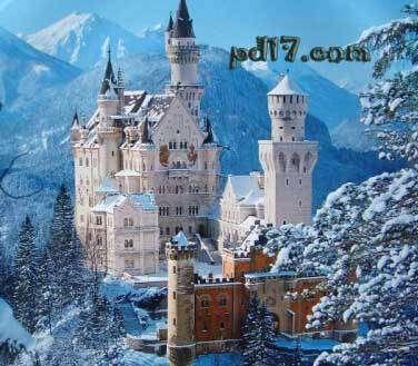 世界上最美的城堡Top1:新天鹅堡