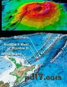 世界十大海底火山Top10:隆隆III