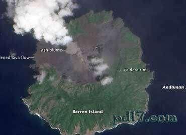 世界十大海底火山Top8:荒芜岛