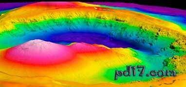 世界十大海底火山Top6:兄弟火山