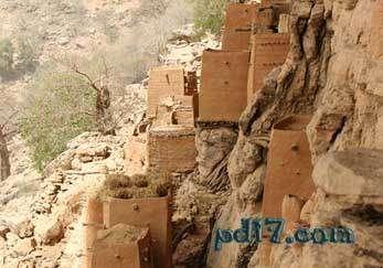 奇特的悬崖上的建筑Top10:Bandiagra悬崖