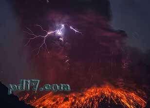 令人惊叹的自然现象Top10:火山闪电
