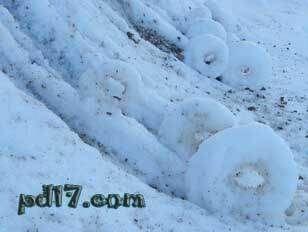 令人惊叹的自然现象Top3:雪卷
