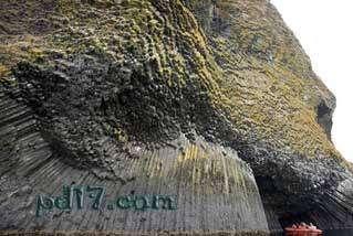 令人惊叹的自然现象Top2:柱状玄武岩
