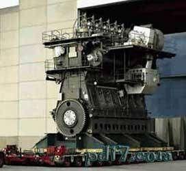 人工做出的巨大设施设备Top8:瓦锡兰 苏尔寿RTA96-C