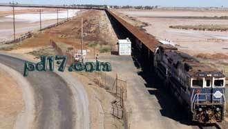 人工做出的巨大设施设备Top5:澳大利亚必和必拓铁矿石列车
