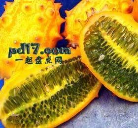长相怪异的水果Top10:刺角瓜