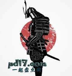 关于日本武士恐怖的事Top5:武士道