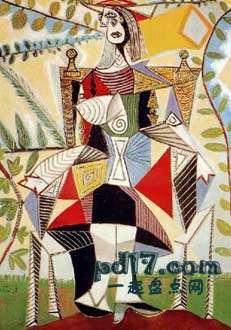 毕加索作品价格_毕加索最贵的画作:Top10 - 一起盘点网