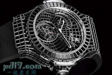 世界上最昂贵的手表、怀表Top7:Hublot Black Caviar Bang