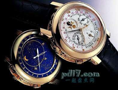 世界上最昂贵的手表、怀表Top5:百达翡丽天空月亮陀飞轮