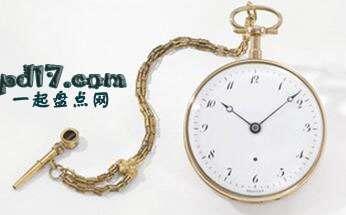 世界上最昂贵的手表、怀表Top10:Brequet怀表 1970 BA/12