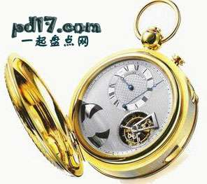 世界上最昂贵的手表、怀表Top2:百达翡丽Super Complication