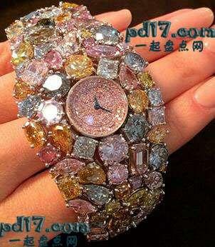 世界上最昂贵的手表、怀表Top1:萧邦210克拉