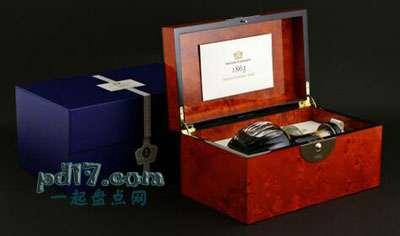 世界上最贵的茶色波特Top2:泰勒弗拉德特1863 Single Harvest Tawny Port