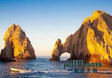 世界上著名的自然拱门Top7:El Arco de Cabo圣卢卡斯