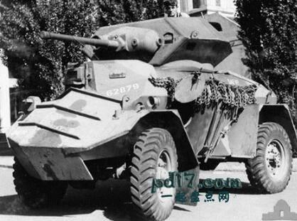 二战时期奇怪的装甲车Top10:犀牛重型装甲车