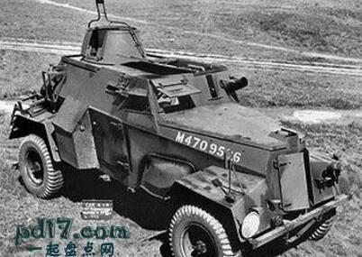 二战时期奇怪的装甲车Top8:亨伯LRC Mk IIIA