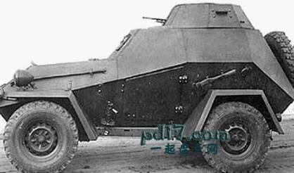 二战时期奇怪的装甲车Top6:BA-64