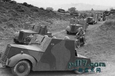 二战时期奇怪的装甲车Top5:标准的Beaverette