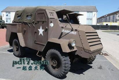 二战时期奇怪的装甲车Top3:C15TA装甲卡车