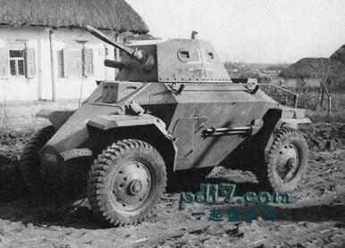 二战时期奇怪的装甲车Top2:39M Csaba