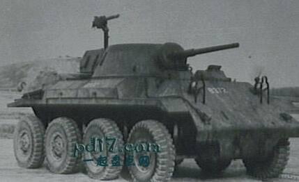 二战时期奇怪的装甲车Top1:T27装甲车