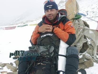 世界上最有名的登山家Top7:Radek Jaros 捷克