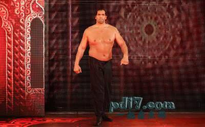 历史上知名的摔跤手Top5:The Great Khali