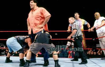 历史上知名的摔跤手Top4:Giant Silva