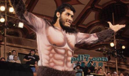历史上知名的摔跤手Top2:巨人冈萨雷斯