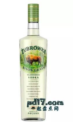 全球伏特加品牌Top4:Zubrowka伏特加