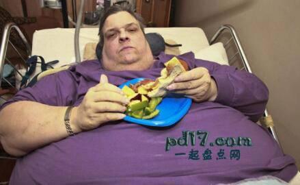 世界上最胖的人:top10