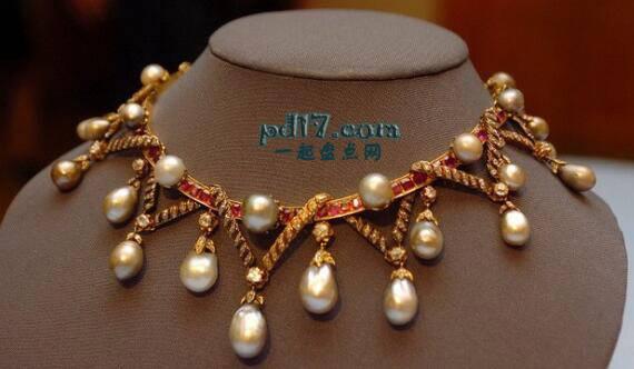 全球最贵的珠宝项链:Top10
